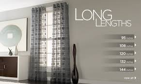 Cheap Long Length Curtains Cheap 120 Length Curtains Curtain Blog