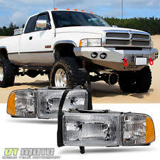 2001 dodge ram 2500 headlight assembly headlights for ram 1500 ebay