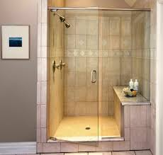 cool bathroom designs bathroom walk in shower with seat inspirations including modern