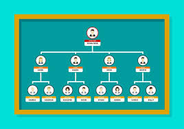 org chart template free vector download free vector art stock