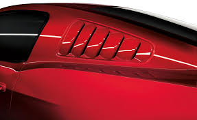ford mustang 2013 accessories louvers quarter window primed right side the official