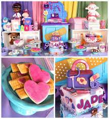 118 doc mcstuffins party ideas images birthday