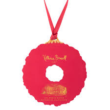wooden wreath ornament ornaments holidays the white house