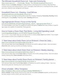 the easiest way to make a chore list the magic blog