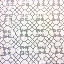 lhd118 windsor white u0026 grey lattice geo geometric heavy upholstery