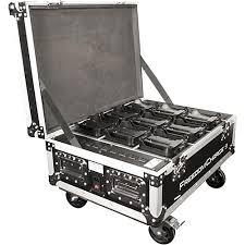 guitar center dj lights chauvet dj freedom charge 9 stage dj light rolling road case