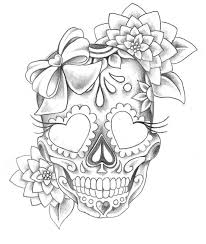 image result for day of the dead drawing tats