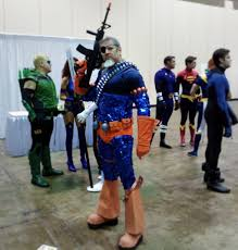 deathstroke costume halloween brian parsley better known for his green arrow channels his