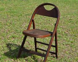 Stakmore Folding Chairs Vintage Folding Chair Seat Etsy