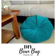 make an easy bean bag diy sewing pattern sew guide
