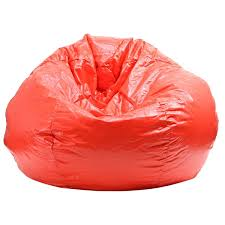 extra large red bean bag free shipping today overstock com
