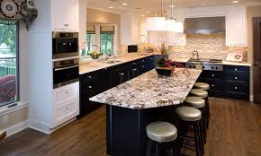 Black Kitchen Cabinets by 20 Kitchens With Stylish Two Tone Cabinets