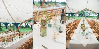 rustic wedding table decorations north east wedding photographer