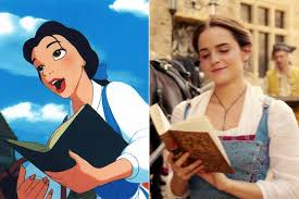 beauty and the beast differences from original movie time
