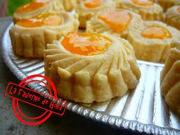 la cuisine orientale petits fours aux amandes et confiture pâtisserie orientale la