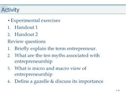 tutorial questions on entrepreneurship week 1 2 nature of entrepreneurship ppt video online download
