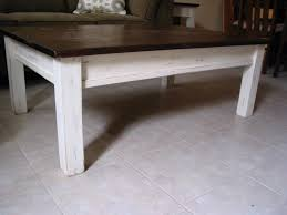Distressed White Dining Table Popular Of Distressed White Coffee Table With Distressed White