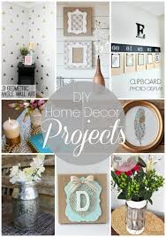 diy projects for home decor 20 diy home decor projects link party features i heart nap time