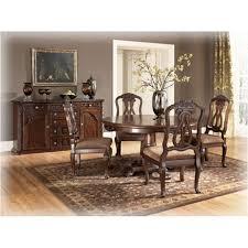 ashley kitchen table set d553 50t ashley furniture round pedestal table
