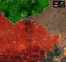 Map Of Turkey And Syria by Syrian Army Faces Off With The Turkish Army In Rural Aleppo Map