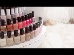diy nail polish organizer 3 tier display youtube