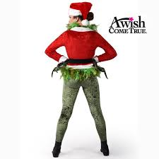 grinch costume a wish come true winter christmas 2017 18 grinch jacket
