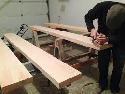 staining our douglas fir shelves a different ballgame chris