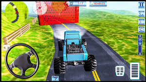 monster truck video game play offroad monster truck driving android gameplay fhd youtube