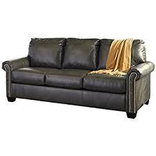 sleeper sofa leather furniture signature design larkinhurst