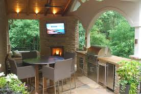 covered patio with fireplace fireplace grill station stone patio and covered structure yelp