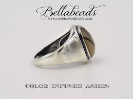 memorial jewelry for ashes flower petal jewelry cremation ring memorial jewelry flowers