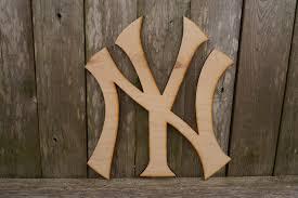 ny new york yankees logo wall hanging zoom