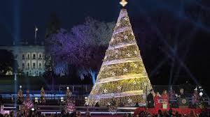 melania leads 95th annual national tree lighting