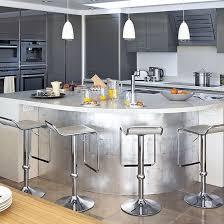 Designer Kitchen Units | stainless steel kitchen island designer kitchen unit ideas
