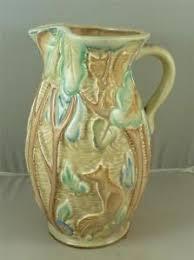 Vase Shaped Jug Beswick Trentham Art Ware 1930s 654 Shape Art Deco Woodland