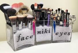 Bathroom Makeup Organizers Bathroom Makeup Organizer Ideas Cosmetic Storage House Design Ideas