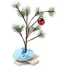 where can i find a brown christmas tree product works 24 inch peanuts brown christmas