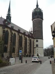 the castle church properly church of all saints in wittenberg