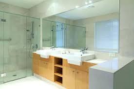 large bathroom wall mirror removing mirror from bathroom wall easywash club