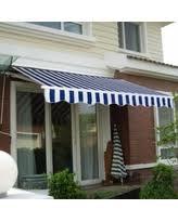 Blue Awning Amazing Deal Ktaxon 10 U0027 8 U0027 Patio Deck Retractable Awning Outdoor