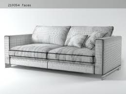 John John Sofa by Reversi Sofa System 3d Model Molteni U0026 C