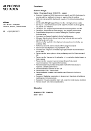 ba resume format ba resume samples business analyst resume sample writing guide rg