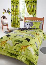 Duvet Covers Kids Safari Animal Park Single Or Double Duvet Sets Kids Quilt