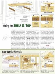 Woodworking Plans Projects June 2012 Pdf by Hall Table Plans Furniture Plans And Projects Woodarchivist
