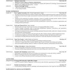 cover letter resume examples for recent college graduates resume