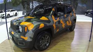 jeep camo jeep renegade compilation 3 camouflage orange and yellow colour