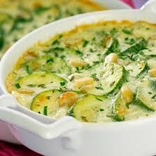 cuisiner courgettes gratins de courgettes au fromage frais ail fines herbes