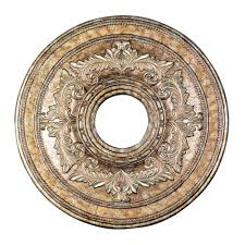 Bronze Ceiling Medallion by Ceiling Medallions Goinglighting