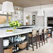 long kitchen island designs kitchen island with seating better homes gardens