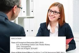 resume for recent college graduate template a resume template for every unemployed recent college grad